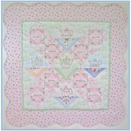 Crabapple Hill Remember Me Stitches and Quilt Pattern - $8.00 ... : crabapple hill quilts - Adamdwight.com